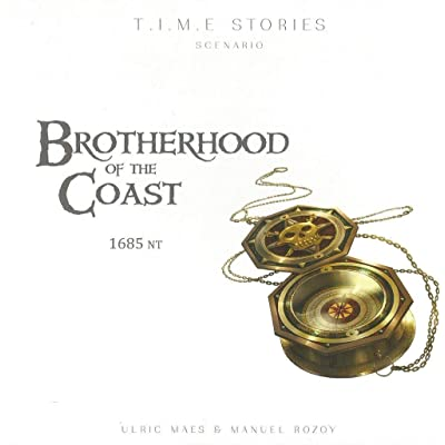 Space Cowboys ASMSCTS08EN T.I.M.E Stories: Brotherhood of The Coast, Mixed Colours: Toys & Games