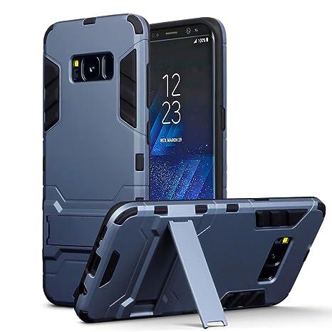 Samsung Galaxy S8 Carcasa Híbrida de Silicona + ...