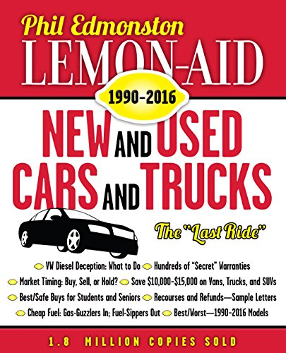 Lemon-Aid New and Used Cars and Trucks 1990-2016