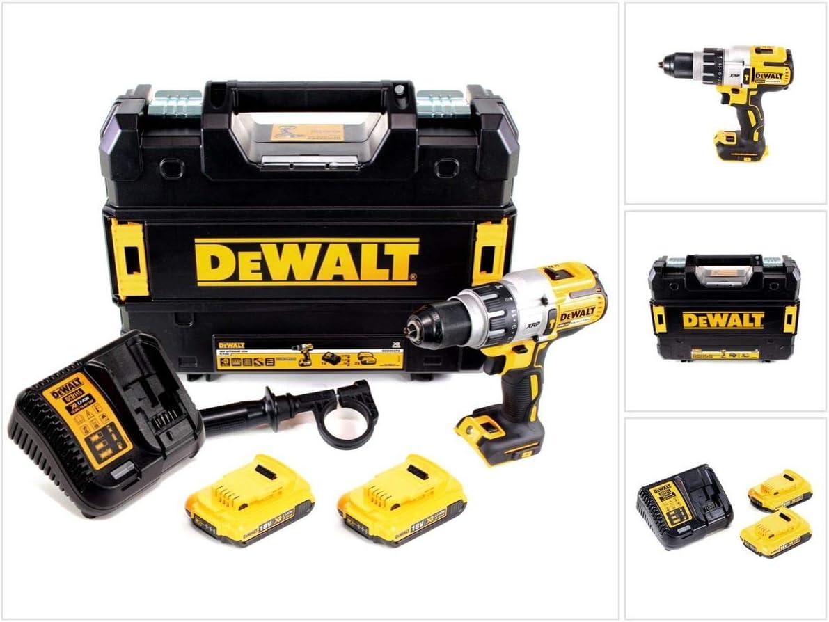DeWalt DCD 99618V 3niveles de Brushless batería de ion de litio atornillador inalámbrico en Tstak maletín + 2x 2,0Ah Batería + Cargador