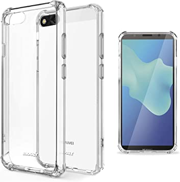 Moozy Funda Silicona Antigolpes para Huawei Y5 2018, Y5 Prime 2018 ...