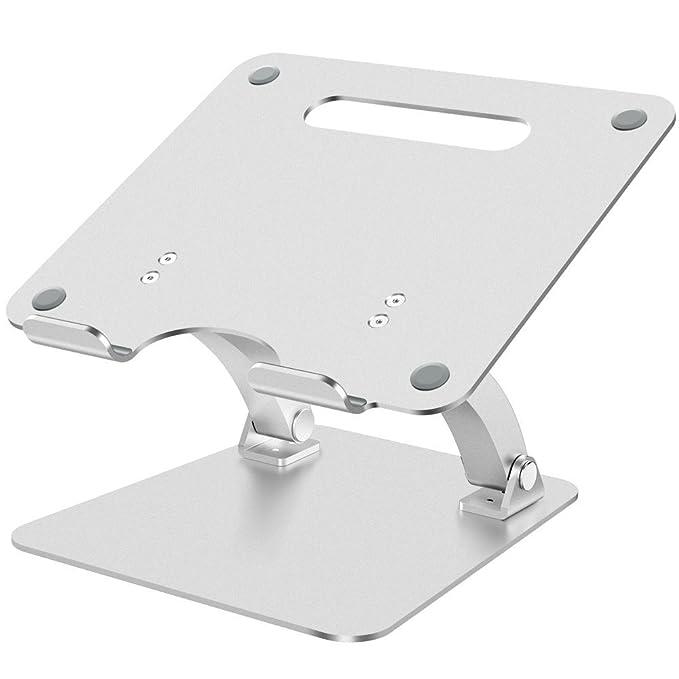 Soporte para Laptop,Nulaxy Soporte de Portátil Ajustable, Laptop Stand para 7-17 pulgadas MacBook / Ordenadores Portátiles/Notebook,Hecho de Aleación ...