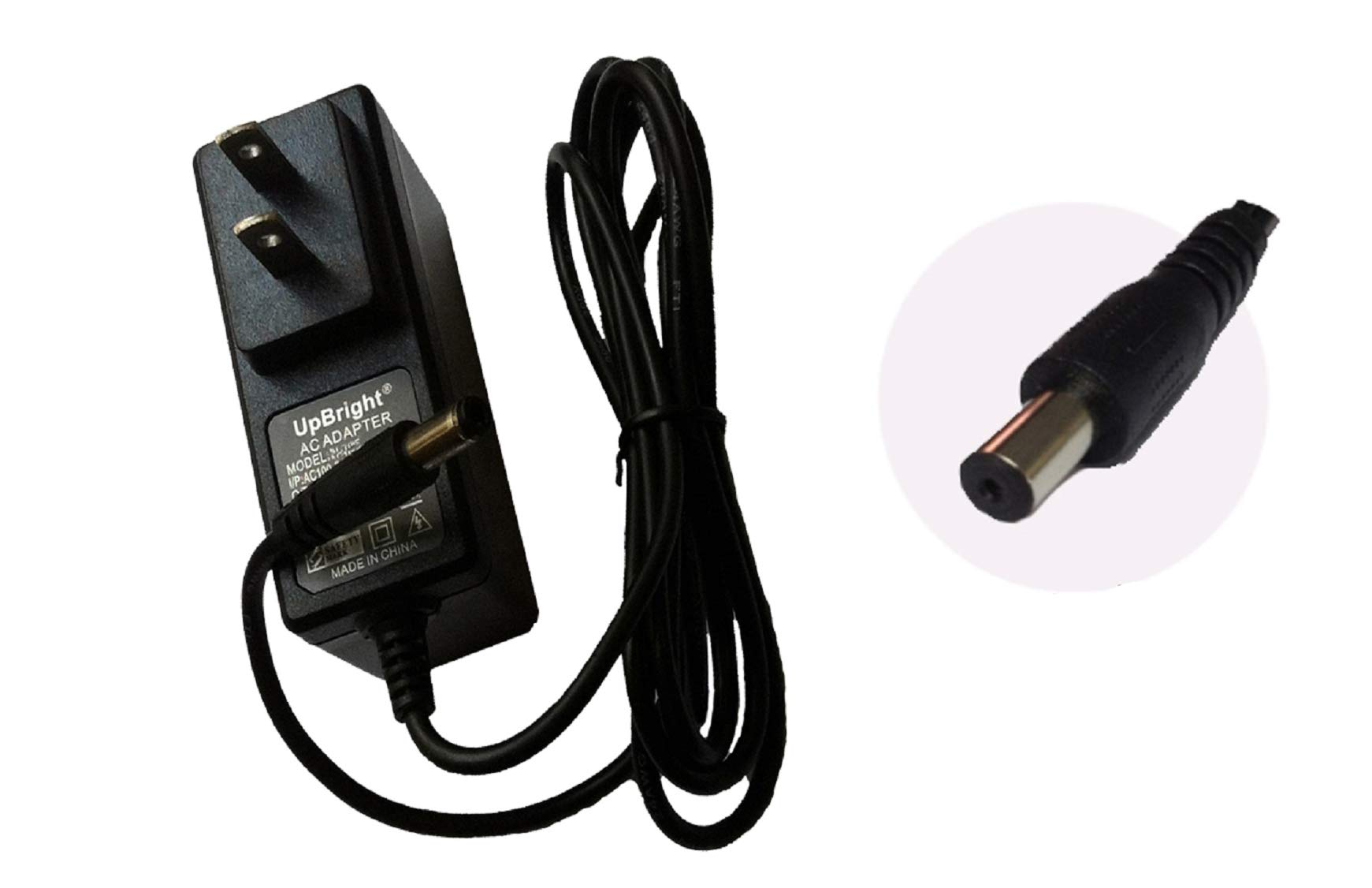 UpBright 12V AC/DC Adapter For Casio Privia PX-100 PX-110 PX-120 PX-200 PX-300 PX-310 PX-320 PX-500L WK-1200 WK-1250 WK-1300 WK-1350 CT640 CTK-5000 CPS85 Piano Keyboard AD-12MLA(U) FC2 12VDC Power