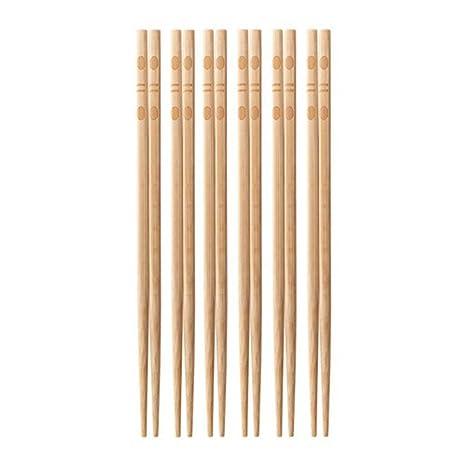 Amazon.com: IKEA tallsopp palillos 6 pares: Kitchen & Dining