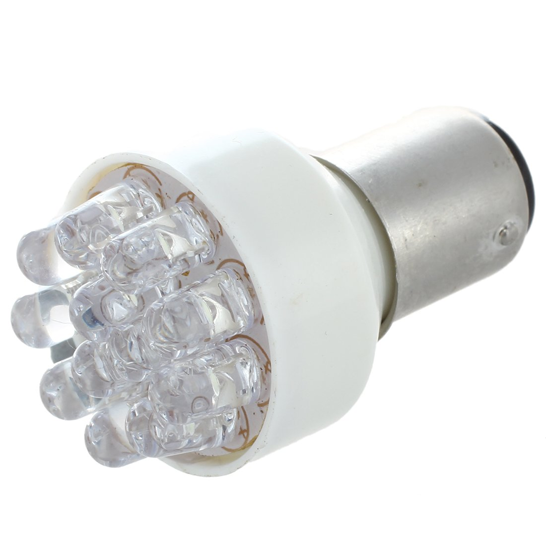 R SODIAL 2pz LAMPADA LUCI STOP 12 LED 1157 P21//5W BIANCO 5500K