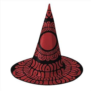 KUKHKU Avatar Legend of Korra - Sombrero de Bruja de Loto Rojo ...