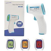 Termómetro infrarrojo digital sin contacto con superficie u objetos (Azul)