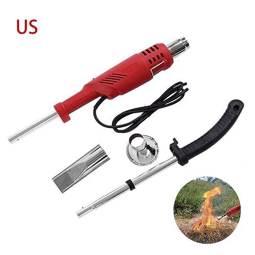 SHSJMY Quemador eléctrico de maleza para césped: Amazon.es: Jardín