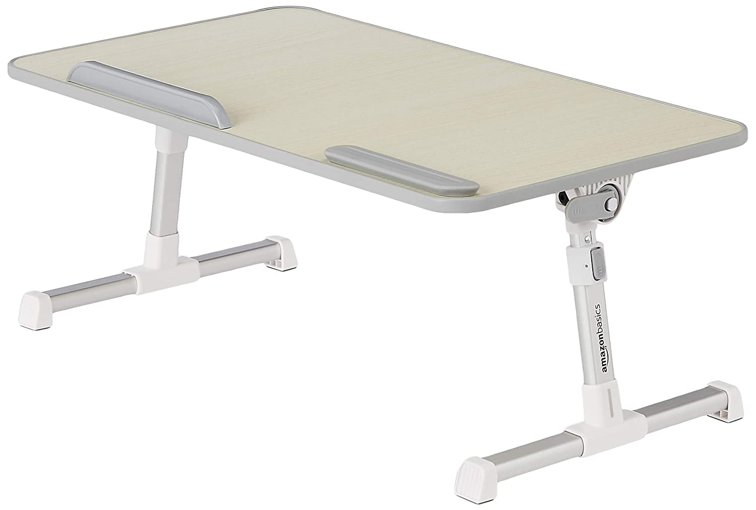 AmazonBasics Adjustable and Portable Laptop Table - Large
