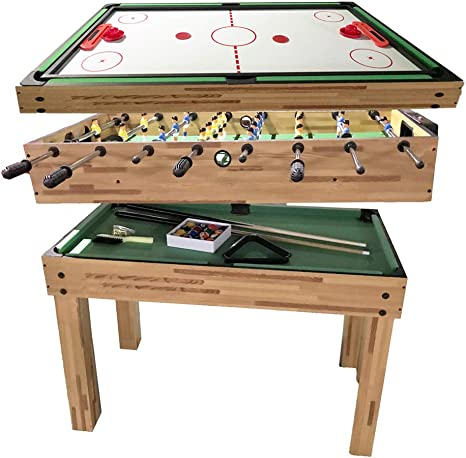Juego de Mesa de combinación de hexton con Mesa de Billar, Hockey de Aire, Mesa y