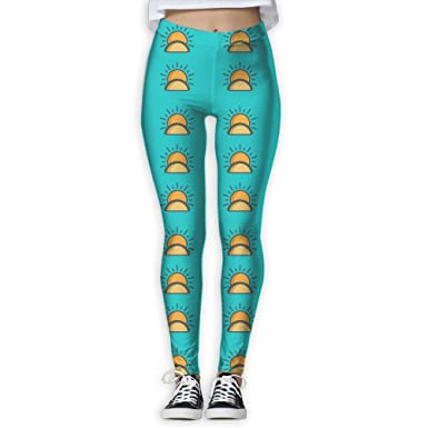 Amazon.com: YOIGNG Yoga Pants Sunshine Tacos Womens Skinny ...