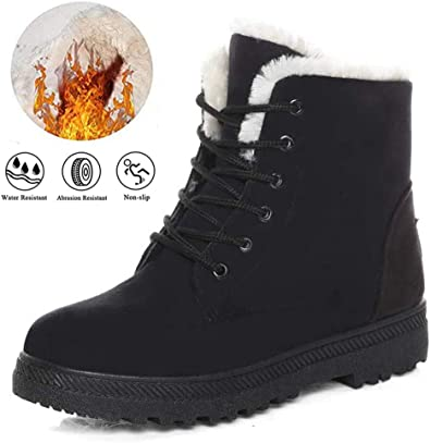 Winter Boots for Women Waterproof Snow