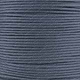 Reflective Type III 550 Paracord - FS Navy - 10 Ft Hank - 7 Strand Core - 100% Nylon, Parachute Cord, Commercial Paracord, Survival Cord