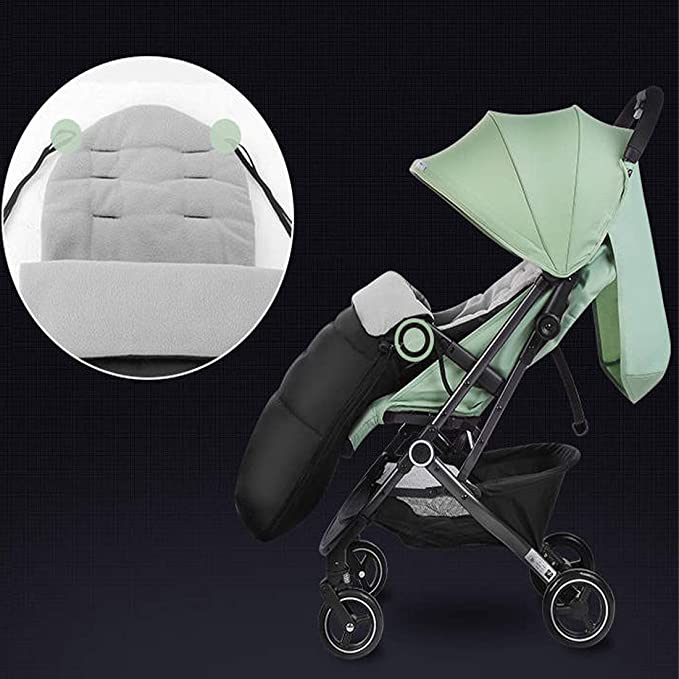 Cloudsemi Winterfußsack Kinderwagen Baby Fußsack Kinderfußsack Für Kleinbaby Grau Bekleidung