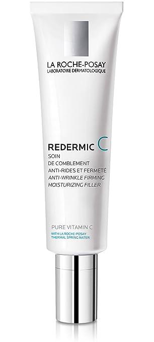 La Roche Posay Redermic C Pure Vitamin C Moisturizer For Dry Skin 1 35 Fl Oz Amazon In Beauty