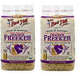 Bobs Red Mill Organic Whole Grain Cracked Freekeh, 16 Ounces (Pack of 2)
