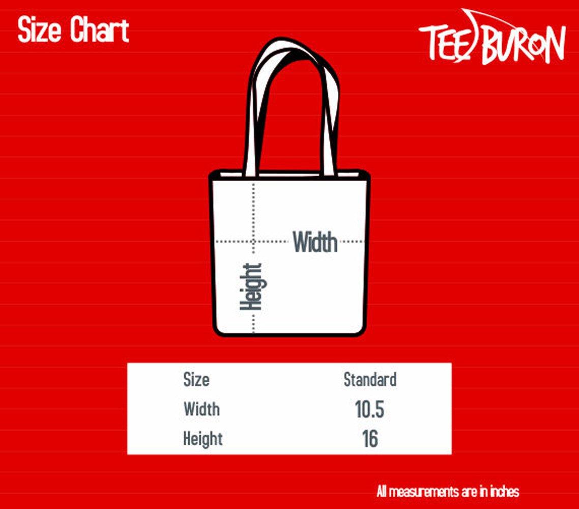 """Teeburon Irish Water Spaniel Wiggle Butts Club Pin Canvas Tote Bag 10.5"""" x 16"""" x 4"""" 2"""