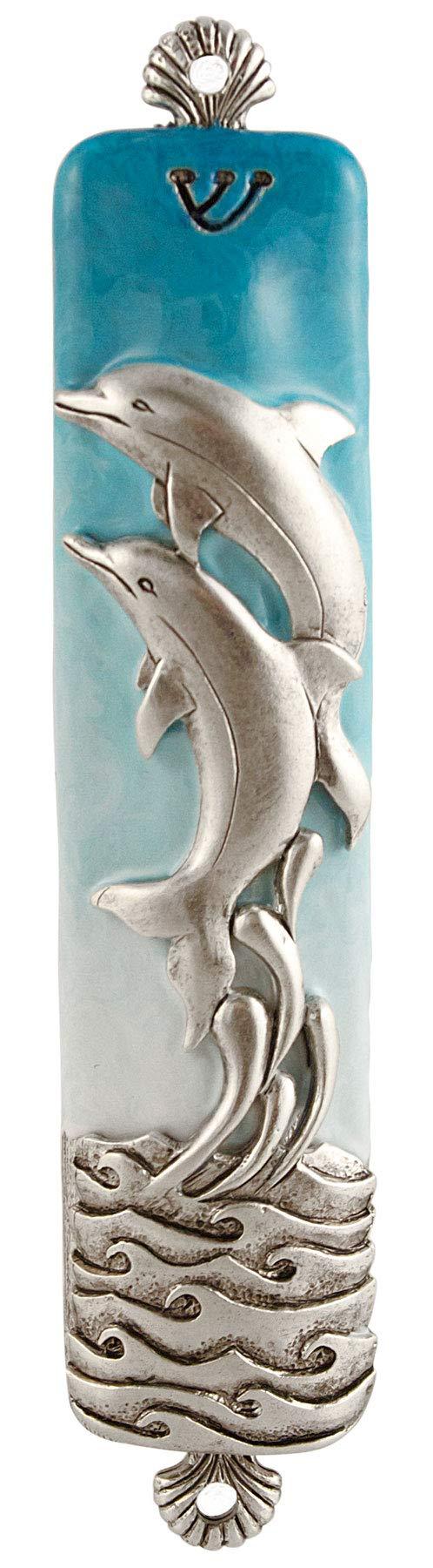 Quest Collection Dolphin Mezuzah