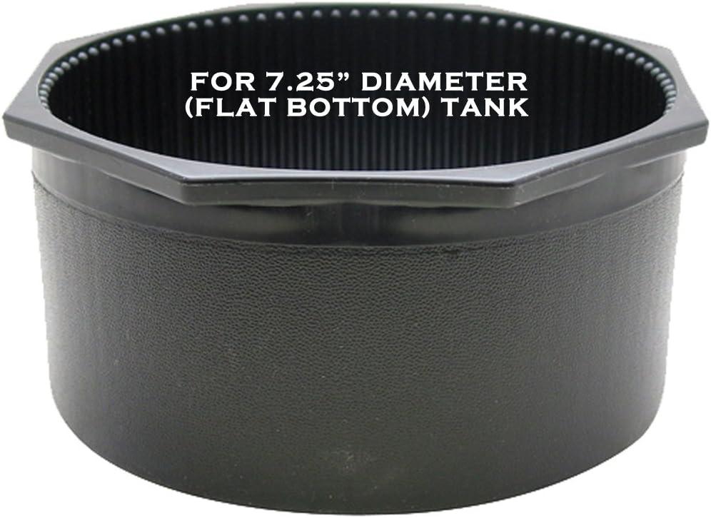 Hex Rim Tank Boot Rigid JCS 7.25inch Diameter Round Bottom