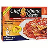 Chef 5 Minute Meals Vegetable Lasagna Self-Heating Boxed Meal