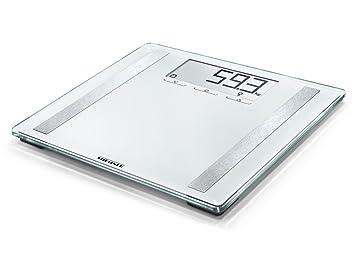 Soehnle Shape Sense Control 200 - Basculas de analisis corporal, color blanco: Amazon.es: Salud y cuidado personal