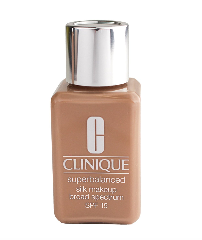 Clinique Superbalanced Silk Makeup Broad Spectrum SPF15 Foundation - 14 Silk Suede, Travel Size .5oz/15ml