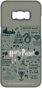 Macmerise Harry Potter Infographic Grey Pro Case For Samsung S8 Plus