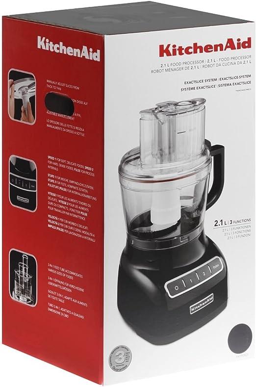 KitchenAid 5KFP0925EOB - Robots de cocina, 240 W, color negro: Amazon.es: Hogar