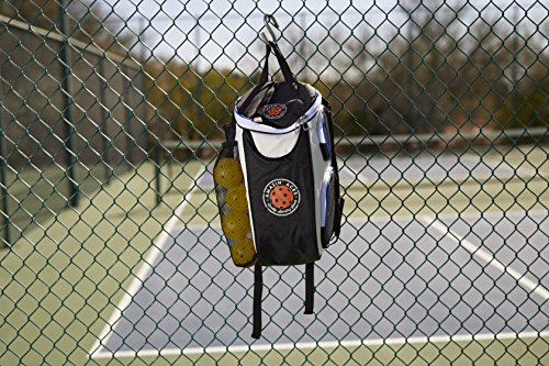 Amazin' Aces Premium Pickleball Backpack | Bag Features Pickleball Holder/Sleeve | Pack Fits Multiple Paddles | Convenient Pockets Phone, Keys, Wallet | Padded Back & Straps Added Comfort by Amazin' Aces (Image #6)