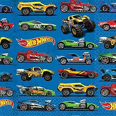 Hot Wheels Wild Racer Beverage Napkins, Party Favor: Toys & Games