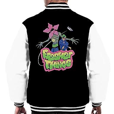 Fresher Things Fresh Prince Stranger Mens Varsity Jacket: Amazon ...