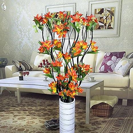 Defrwa Arreglos Florales Flores Secas Sala De Estar Planta
