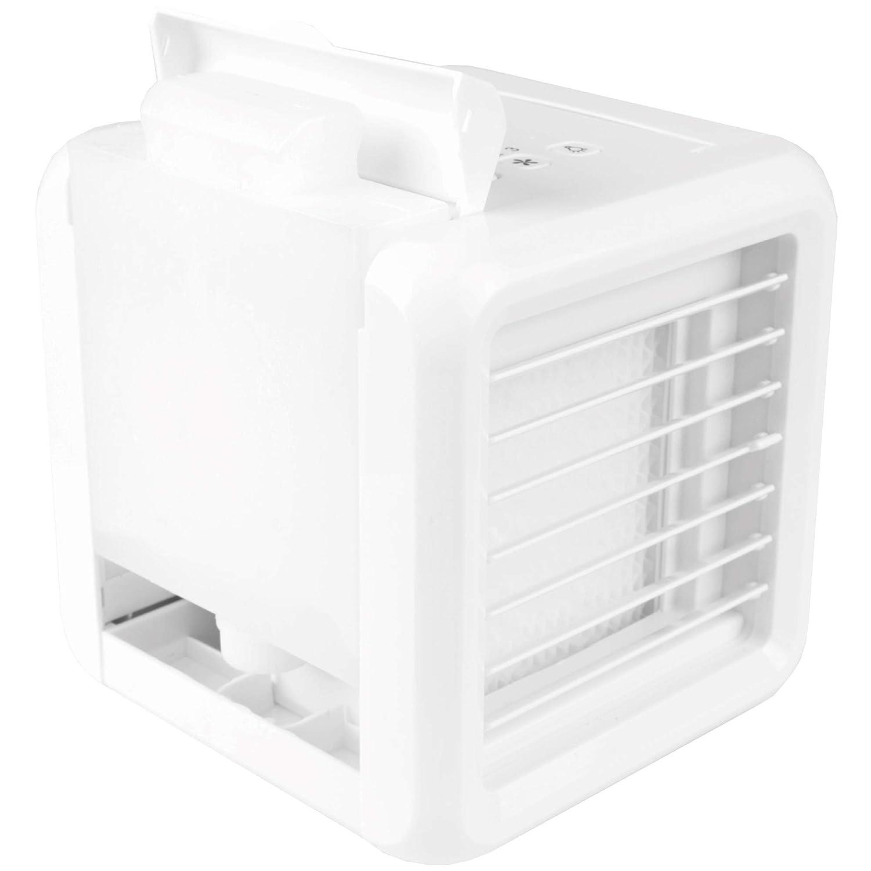 Air Cooler Bestlivings Mini Luftk/ühler USB Ventilator mit Befeuchtung und LED Farbwechsel