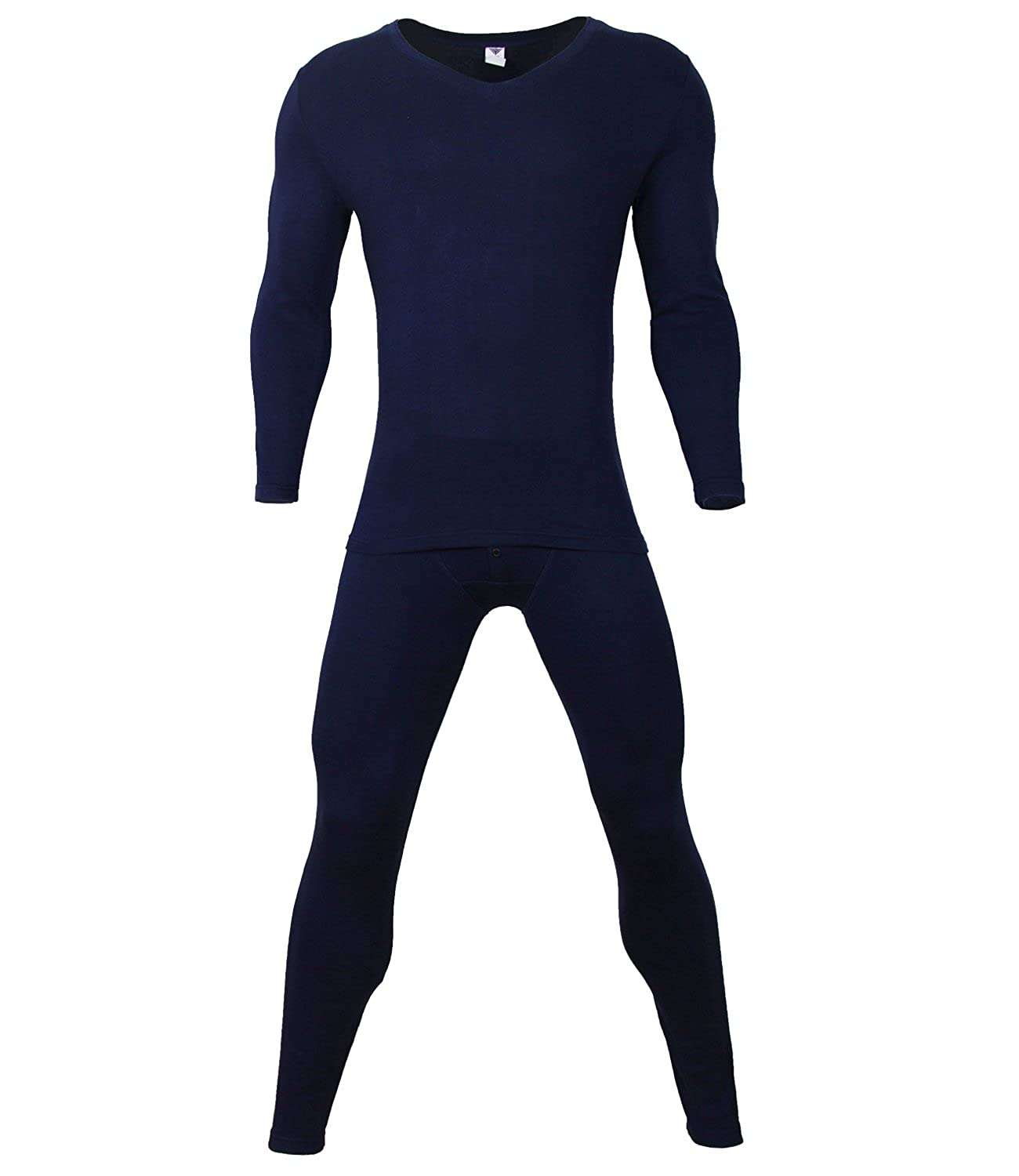 Godsen Mens Cotton Thermal Underwear Sets 8521601