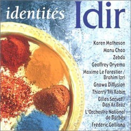 Identités: IDIR: Amazon.fr: Musique