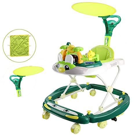 YUMEIGE Andadores Andadores con toldo, Andador para Bebés ...