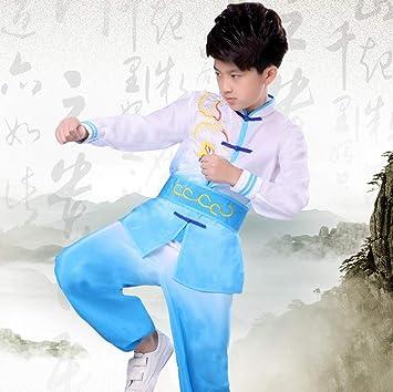 AMhuui Traje de Uniforme de Kung Fu de Traje Chino Tang ...