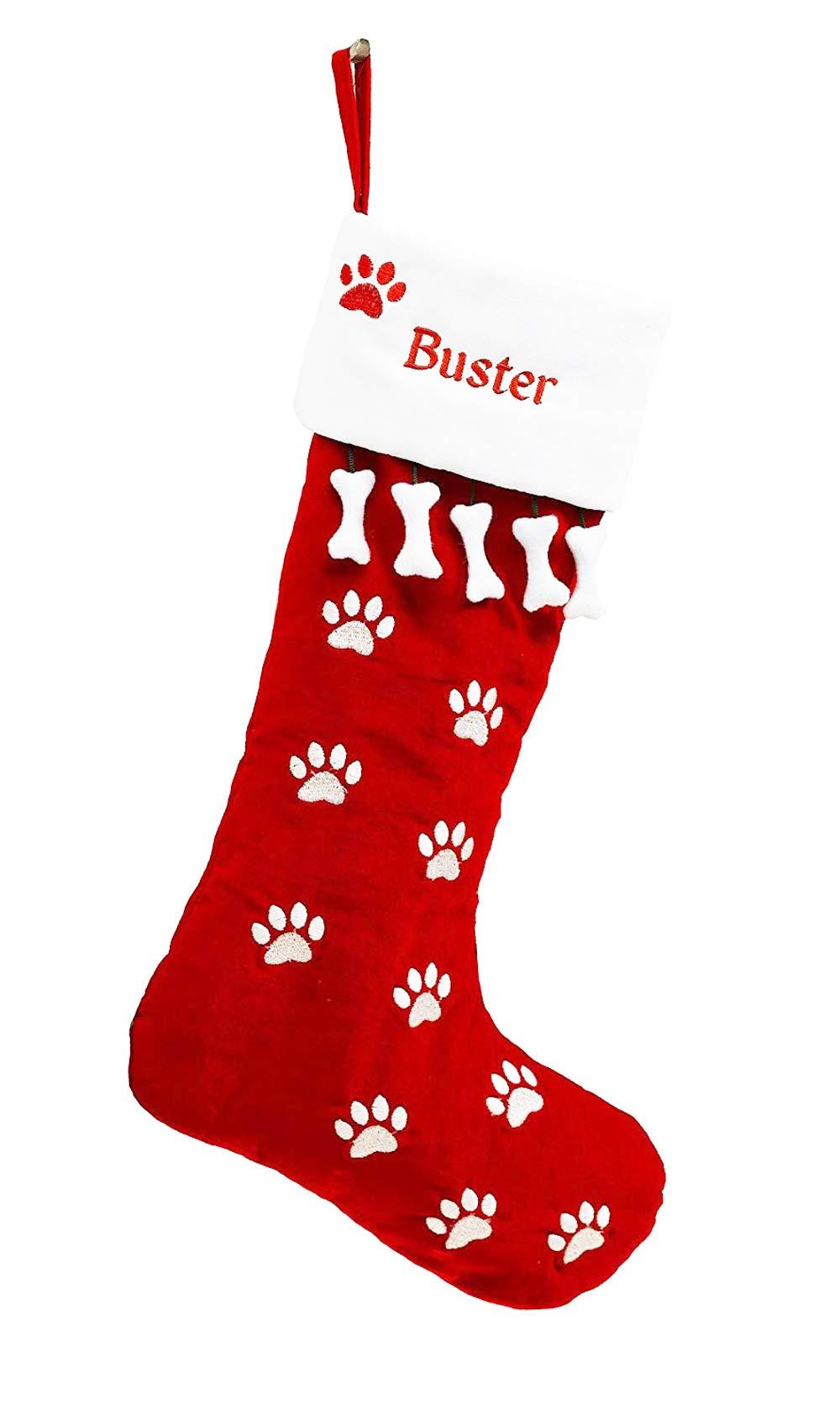 Pet Christmas Stocking Dog