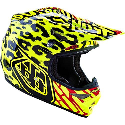 Troy Lee Designs Air Skully Off-Road/Dirt Bike Motorcycle Helmet - Yellow / Medium