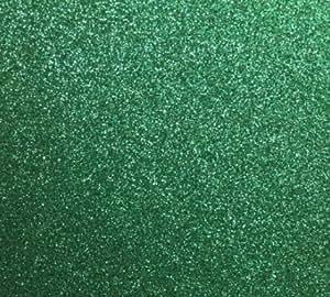 Amazon Com Emerald Green Glitter Cardstock Paper Supply