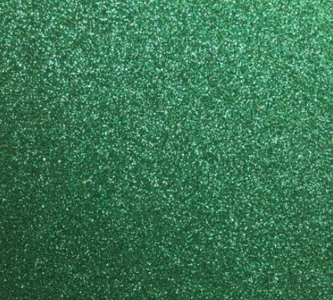 Emerald Green Glitter Cardstock, Paper Supply Station 15 Identical Sheets 12