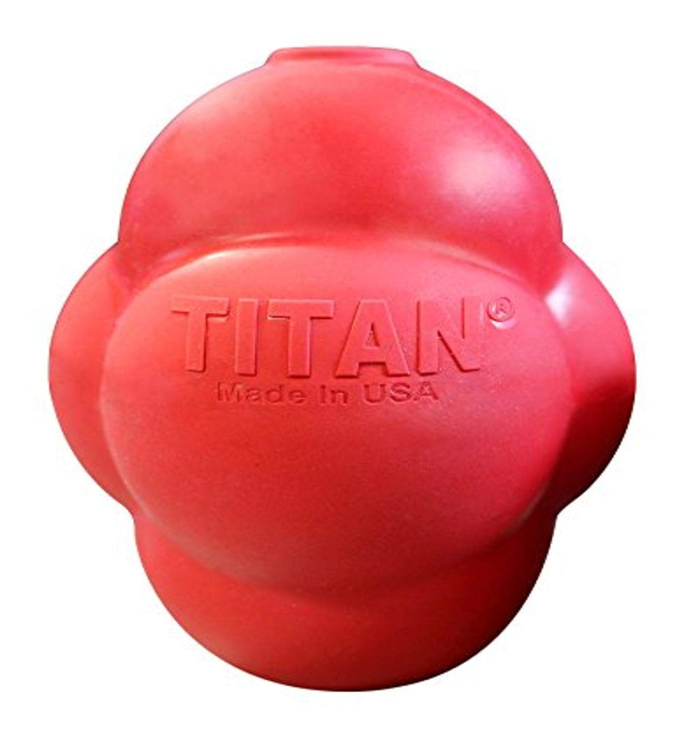 Titan Busy Bounce, Tough Durable Treat Dispensing Dog Toy With Unpredictable Bounce | Made in USA