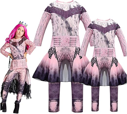 CVDEKH Halloween Disfraces Onesies de Descendientes 3 Que rodean ...