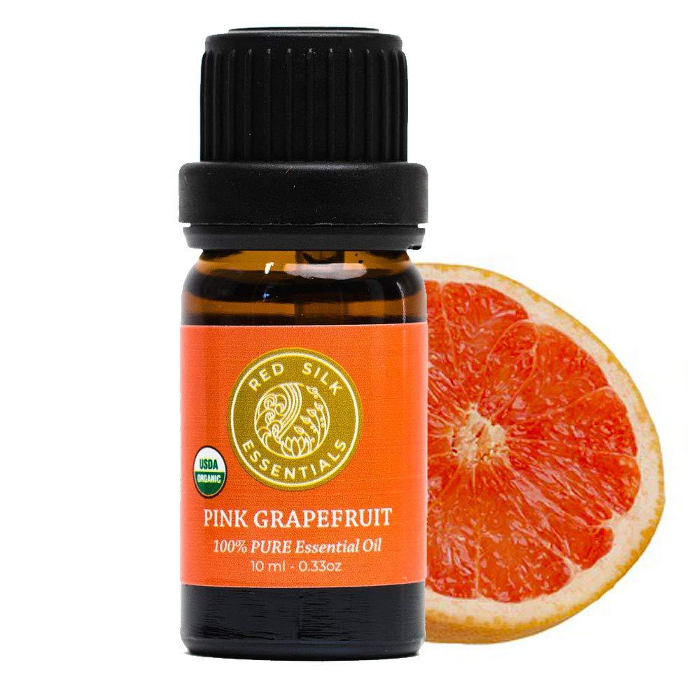 Organic Grapefruit Pink Essential Oil