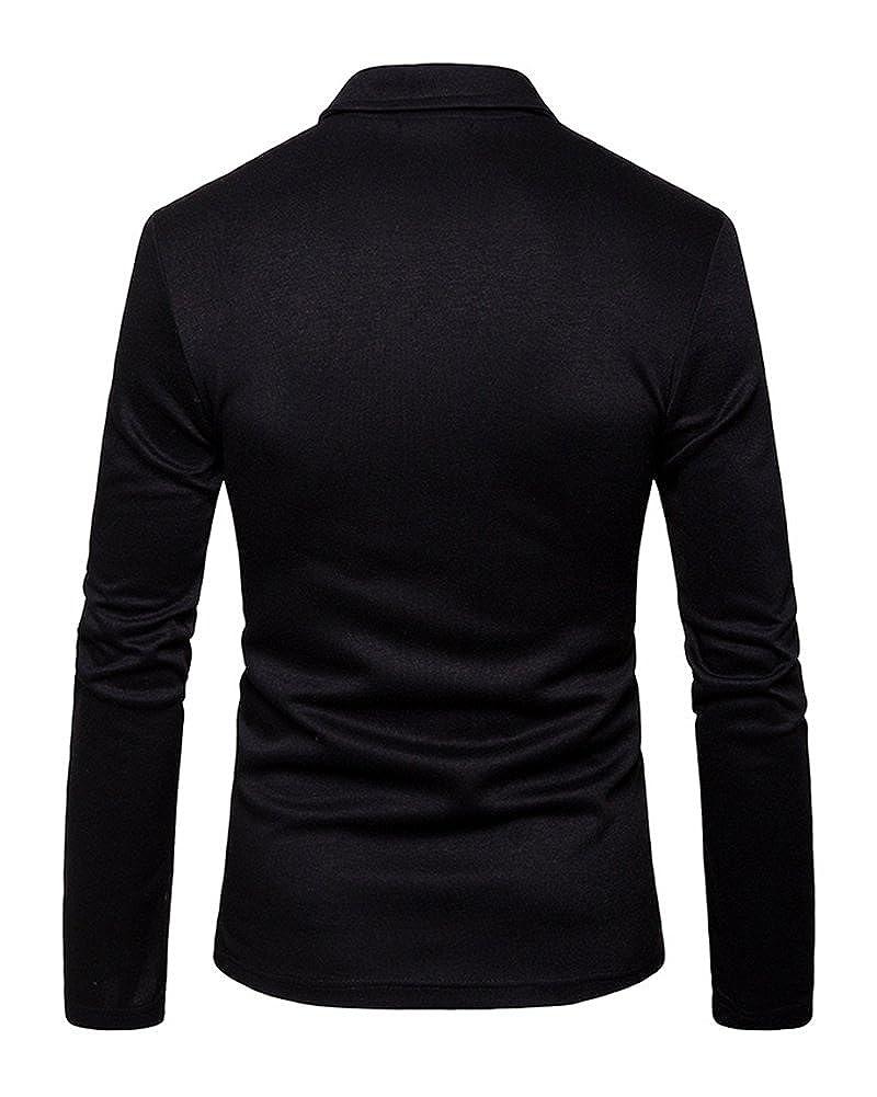Runyue Herren Beil/äufiger Sakko Blazer Jacke Zwei Tasten Freizeit Anzug Jacken Reine Farbe Jackett Anzugjacken