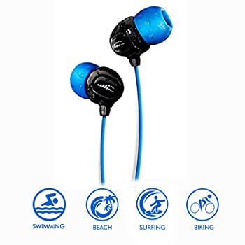 H2O Audio Surge S+ Waterproof Sport Earbuds