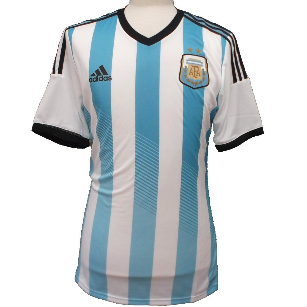 Adidas Argentina Authentic Home Reproductor Issue Camiseta 2014/15 - XXL: Amazon.es: Deportes y aire libre