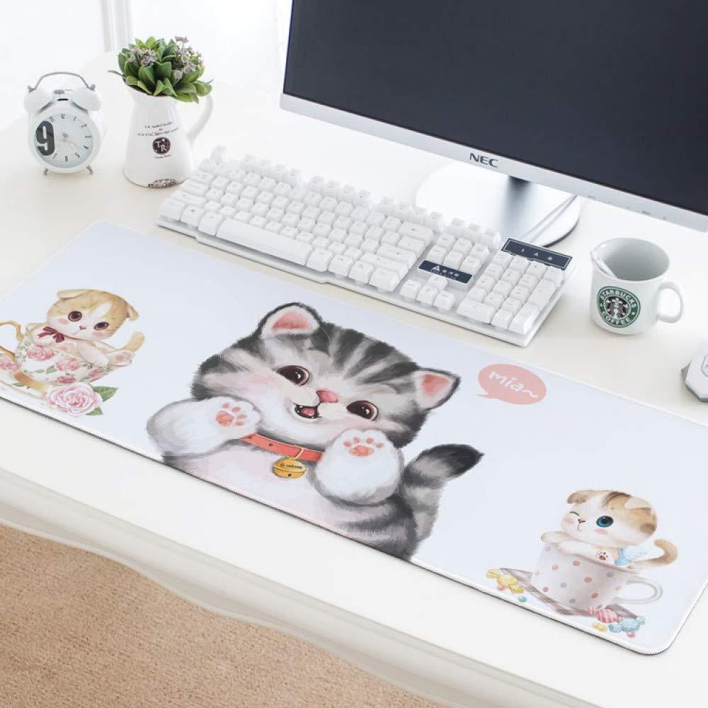Tzsysb Aullido ratón gato lindo creativo alfombrilla de ratón ...