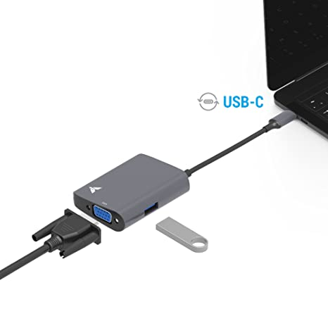 Review USB C to VGA