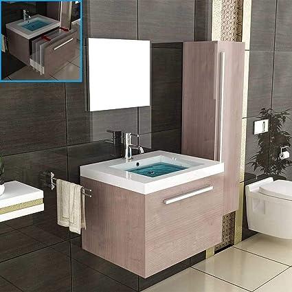 Marrón de muebles de baño/armario para lavabo/lavabo/cuarto de baño ...